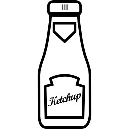 Free BBQ Clipart. Ketchup bottle
