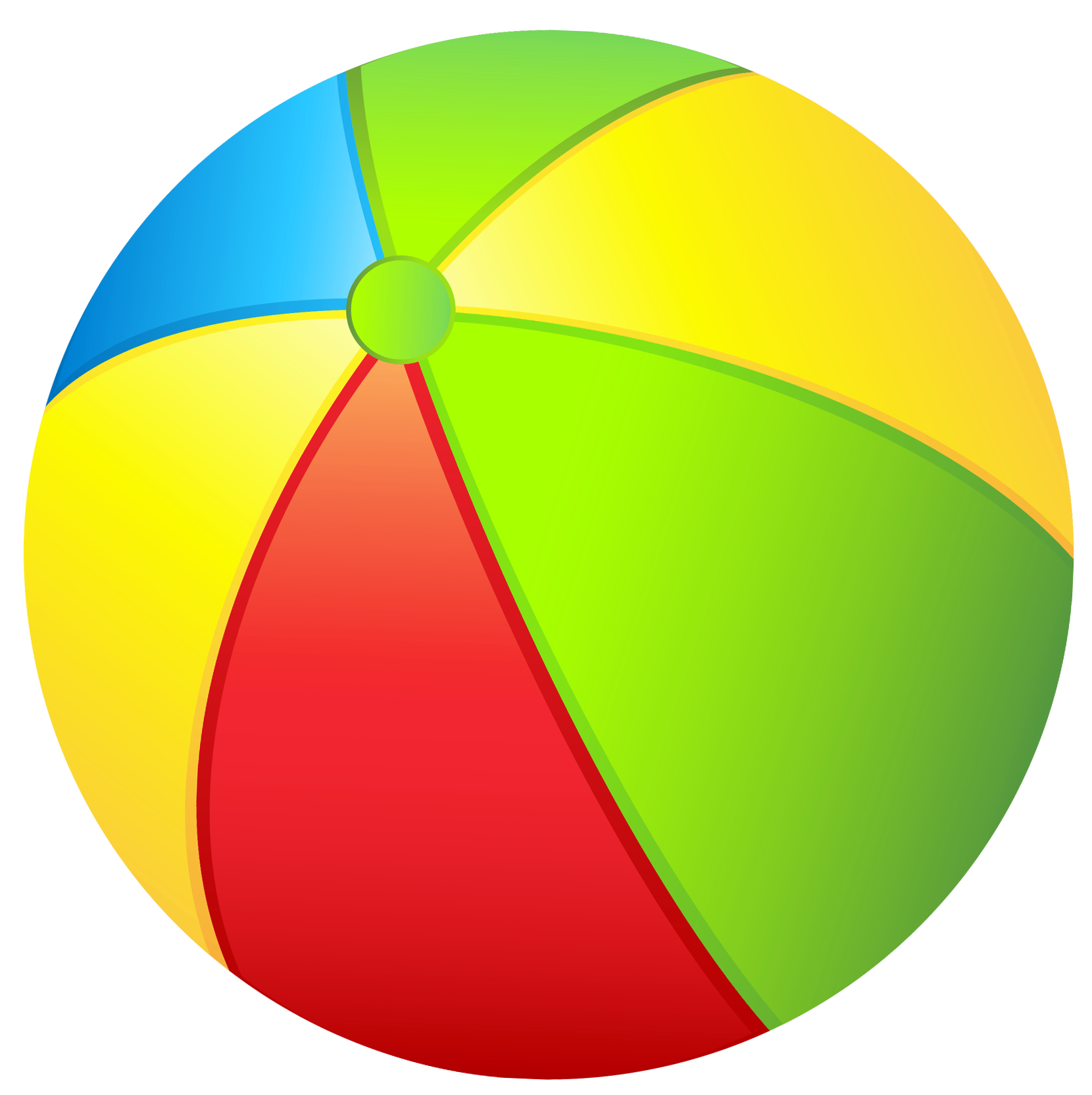 Free beach ball clipart free clip art image image