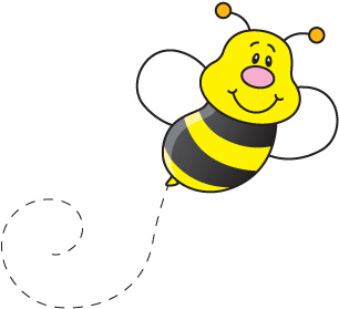 Free Bee Clipart For Teachers - Free Bee Clipart