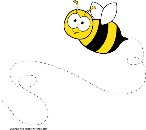Free bee clipart, ready for PERSONAL and COMMERCIAL projects!