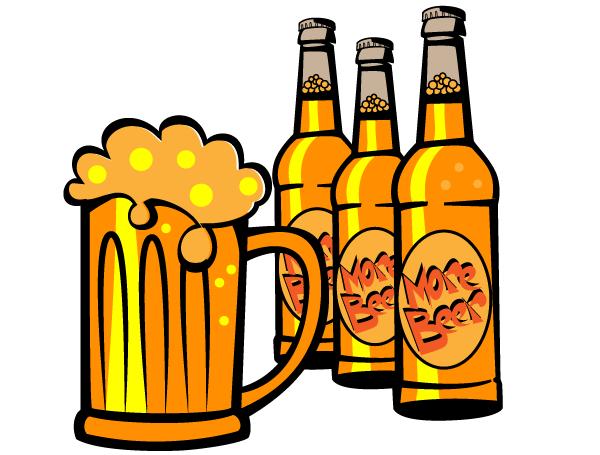 Free Beer Bottle Vector Clip Art-Free Beer Bottle Vector Clip Art-5