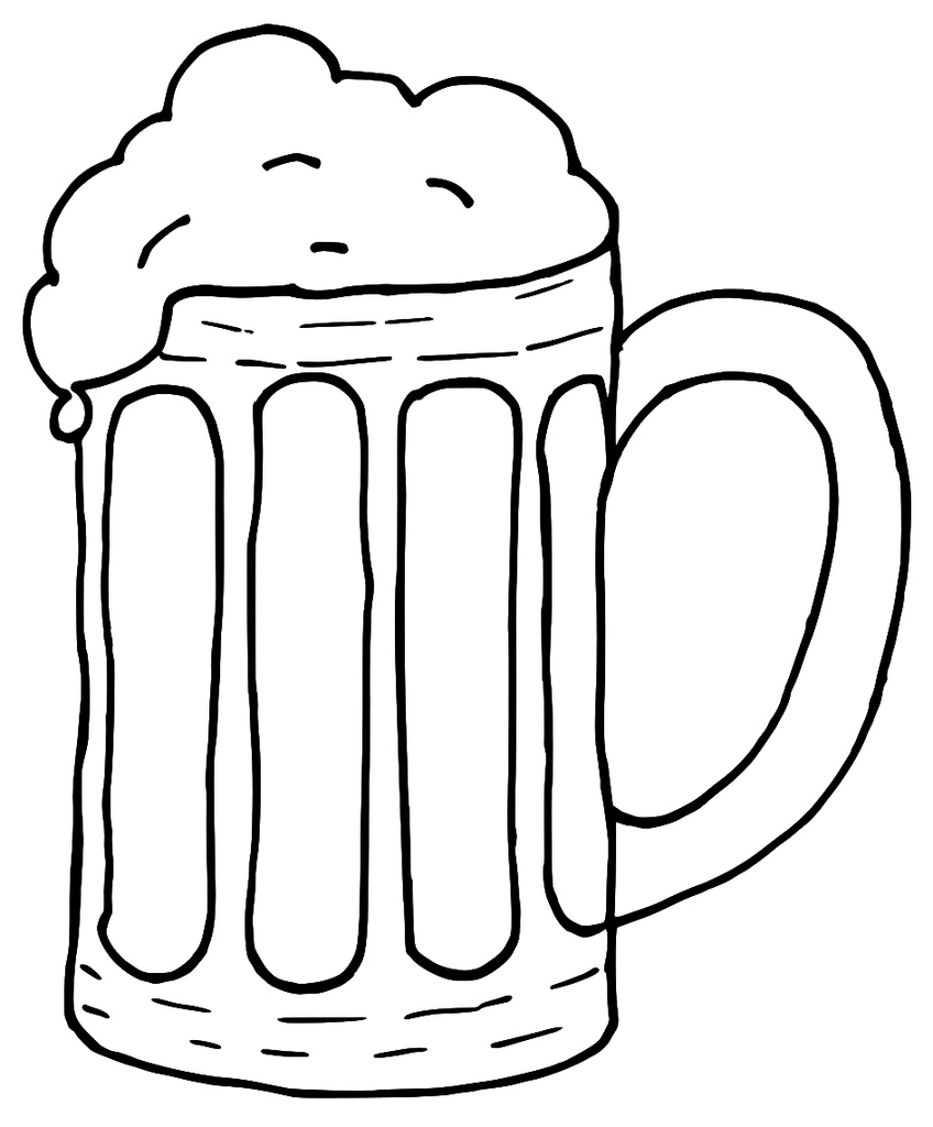 Free beer clipart clip art .-Free beer clipart clip art .-15