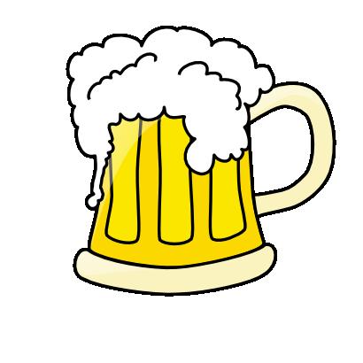 Free Beer Mug With Overflowing Beer Clip-Free Beer Mug With Overflowing Beer Clip Art-17