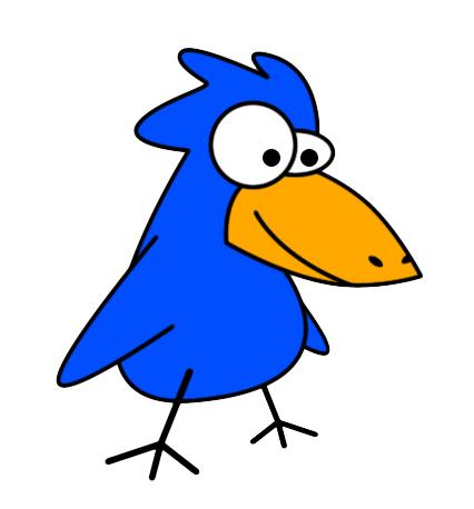 Free Bird Clip Art, Blue Bird Clip Art Flamingo Clipart Pics