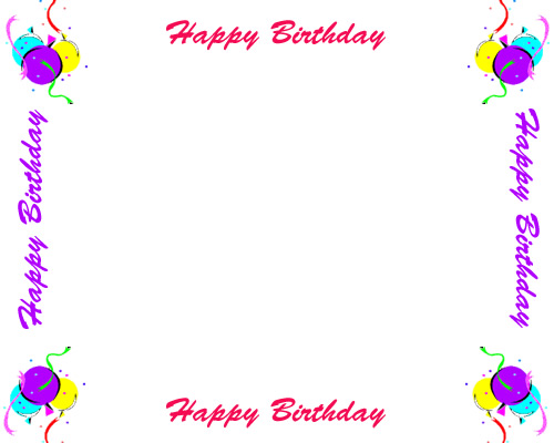 Free Birthday Borders For Invitations An-Free Birthday Borders For Invitations And Other Birthday Projects-10
