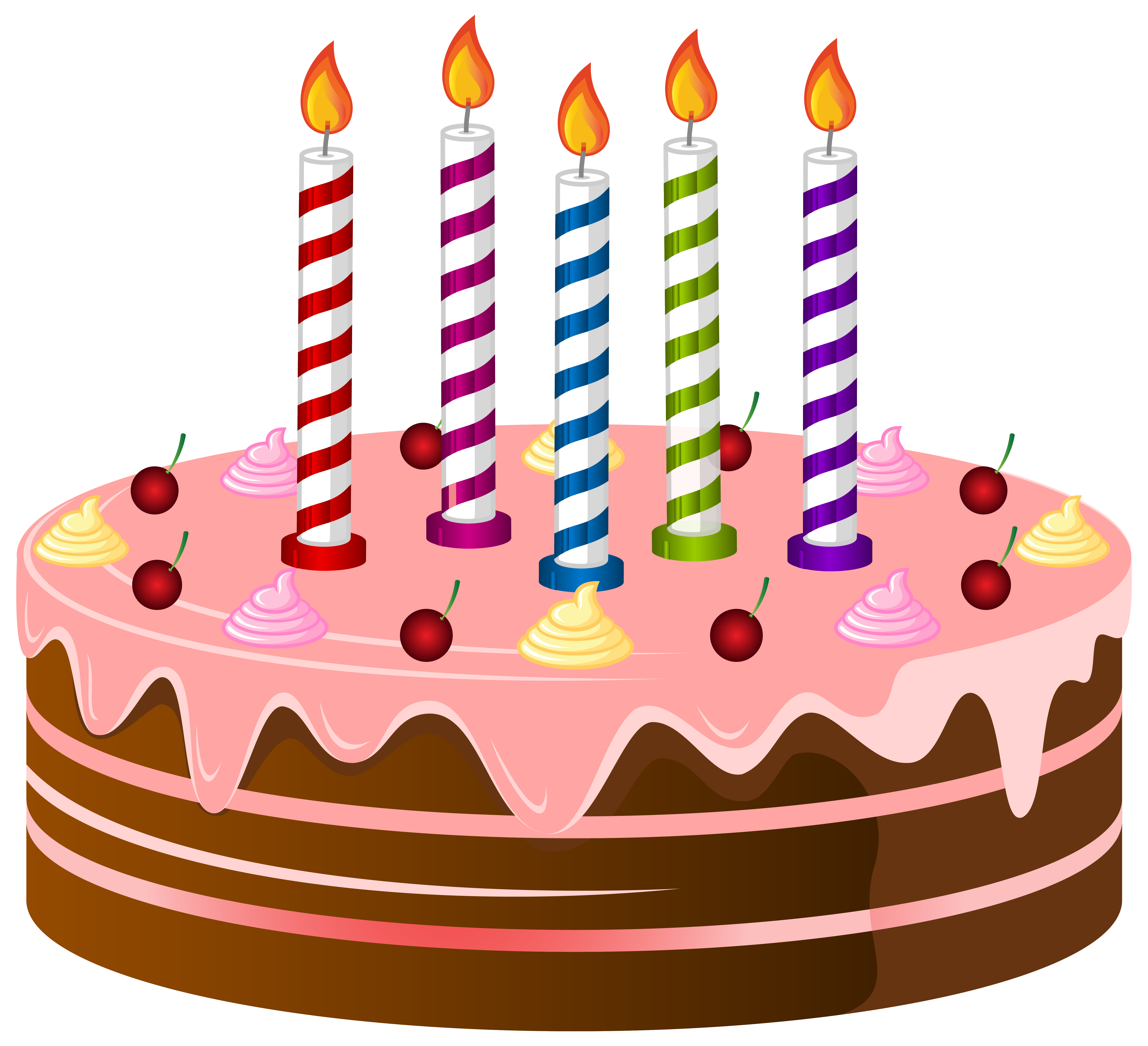 Free birthday cake clip art .