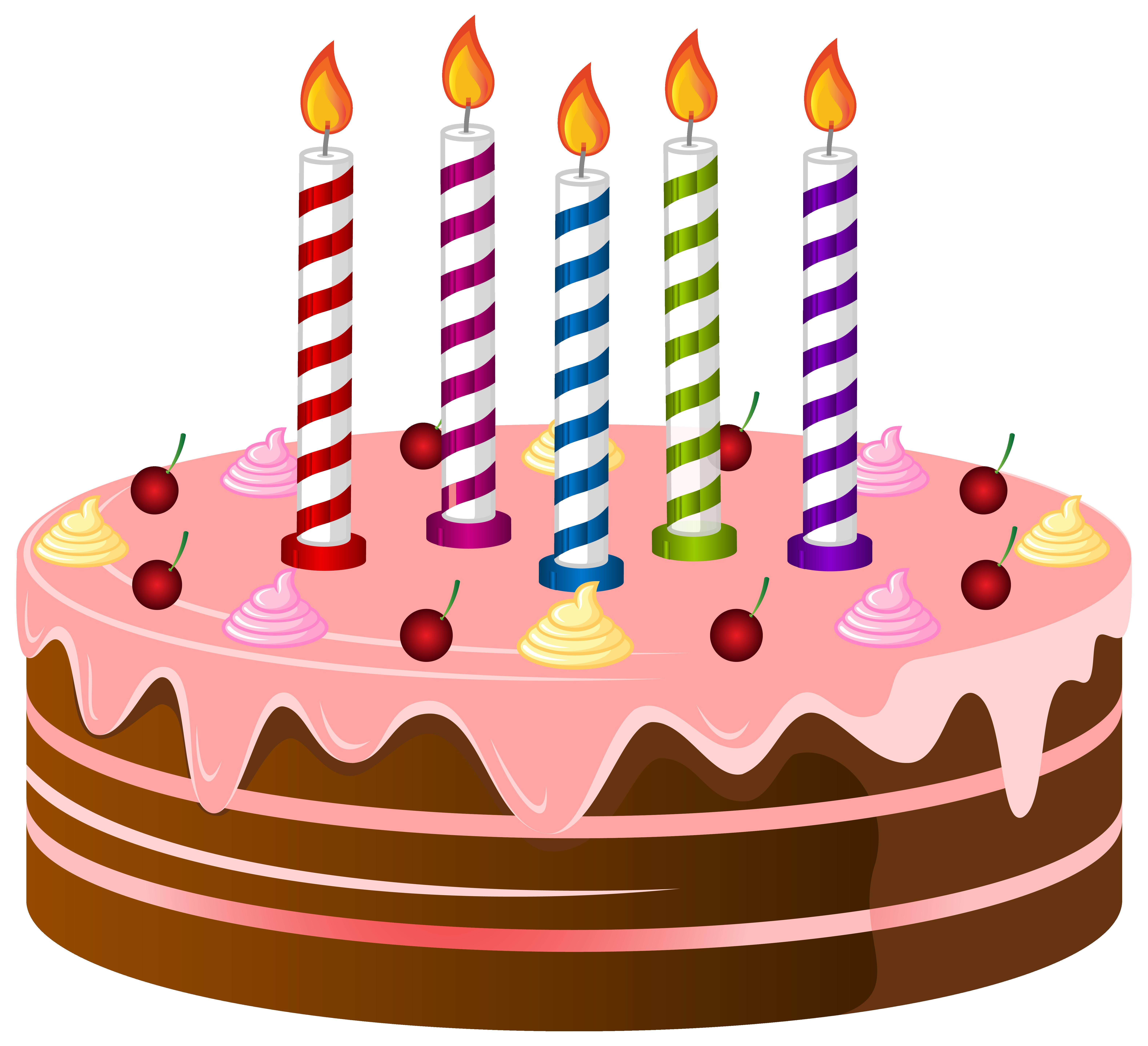 Free birthday cake clip art .