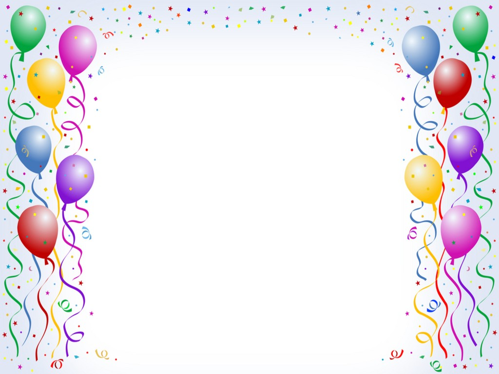 Free birthday clip art border - Birthday Clip Art Borders