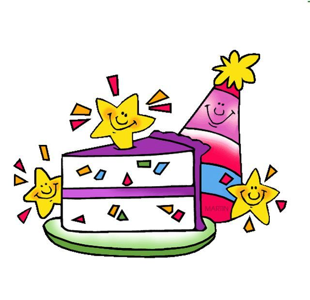 Free Birthday Clip Art by Phillip Martin