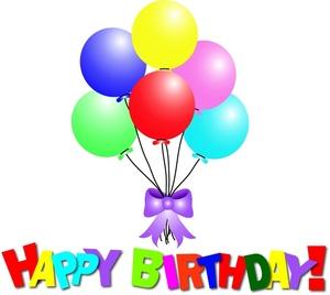 Free birthday free happy birthday balloon clip art