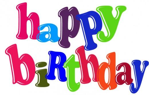 Free birthday happy birthday  - Free Clip Art Birthday