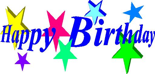 Free birthday happy birthday .