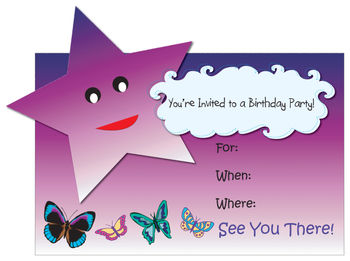 Free Birthday Invitation Clip Art