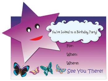 Free Birthday Invitation Clip Art-Free Birthday Invitation Clip Art-2
