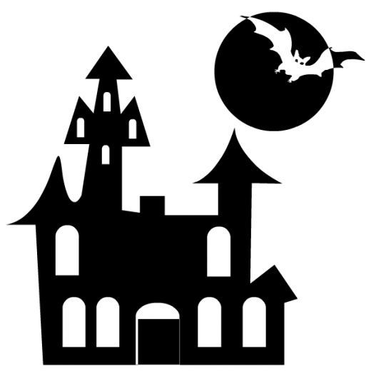 Free Black and White Halloween Clip Art | Halloween, Clip Art and 520 x 520. Download. Halloween Clip Art Black And White ...