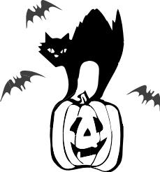 Free Black Cat Clipart-Free Black Cat Clipart-6