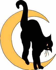 Free Black Cat Clipart-Free Black Cat Clipart-7
