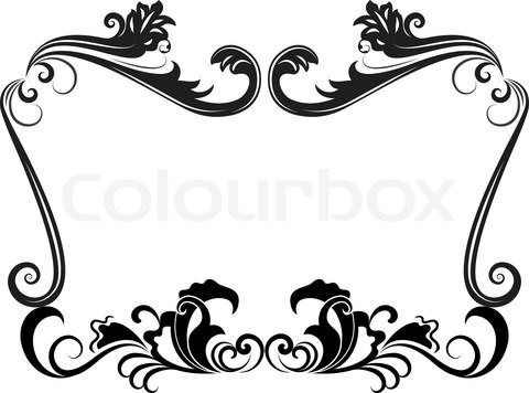 Free Black Clip Art Borders And Frames W-Free black Clip Art Borders and Frames weddings | Stock vector of u0026#39;Black and white-11