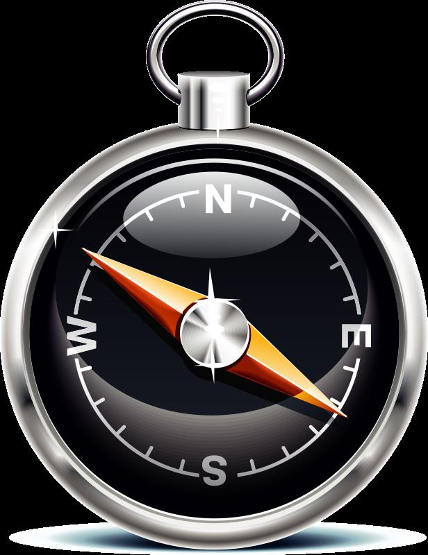Free Black Compass Clip Art u0026middot; compass6