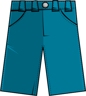 Free Blue Pants Clip Art