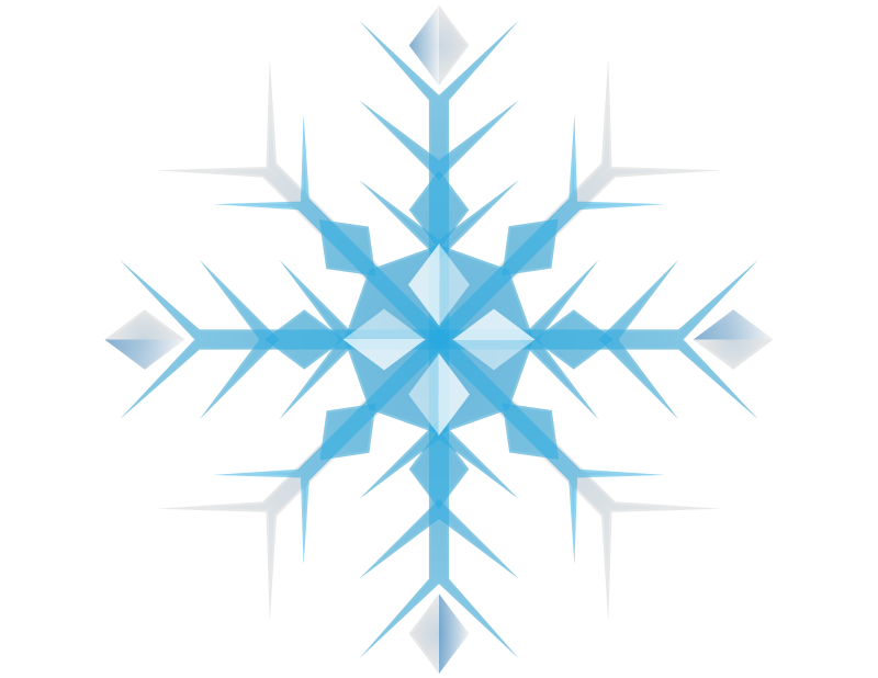 Free Blue Snowflake Clip Art U0026middot-Free Blue Snowflake Clip Art u0026middot; snowflake7-5
