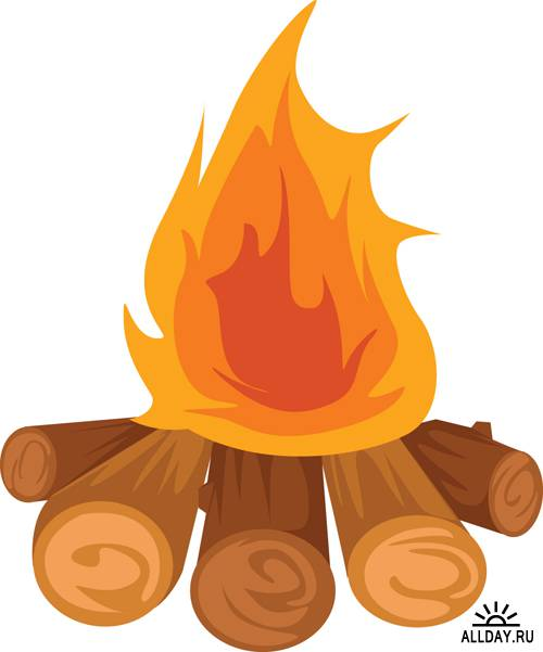 Free Bonfire Clipart