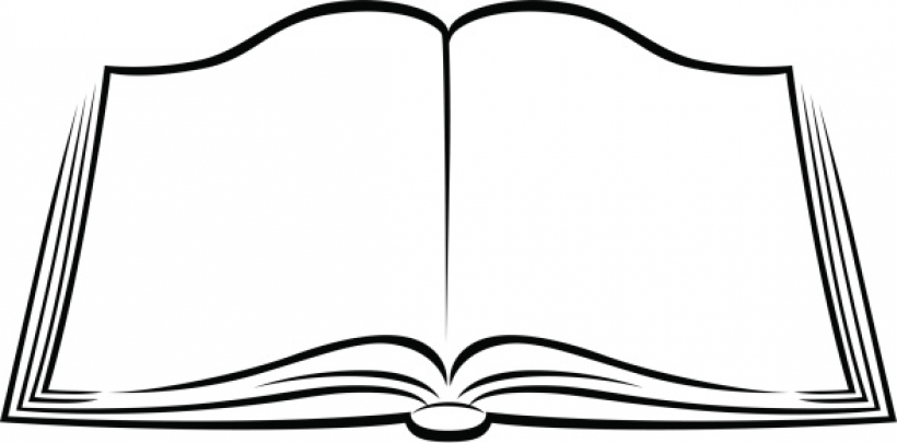 ... free book clipart black and white im-... free book clipart black and white image 73 open books clipart .-12