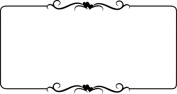 free border clipart for word - Border Clipart For Word