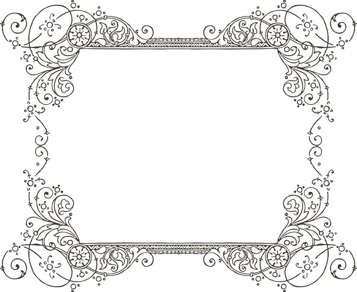free border clipart for word