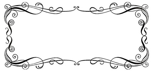 Free Borders Wedding Clipart .