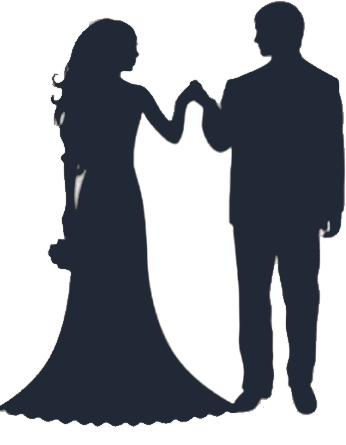 Free Bride And Groom Clipart .