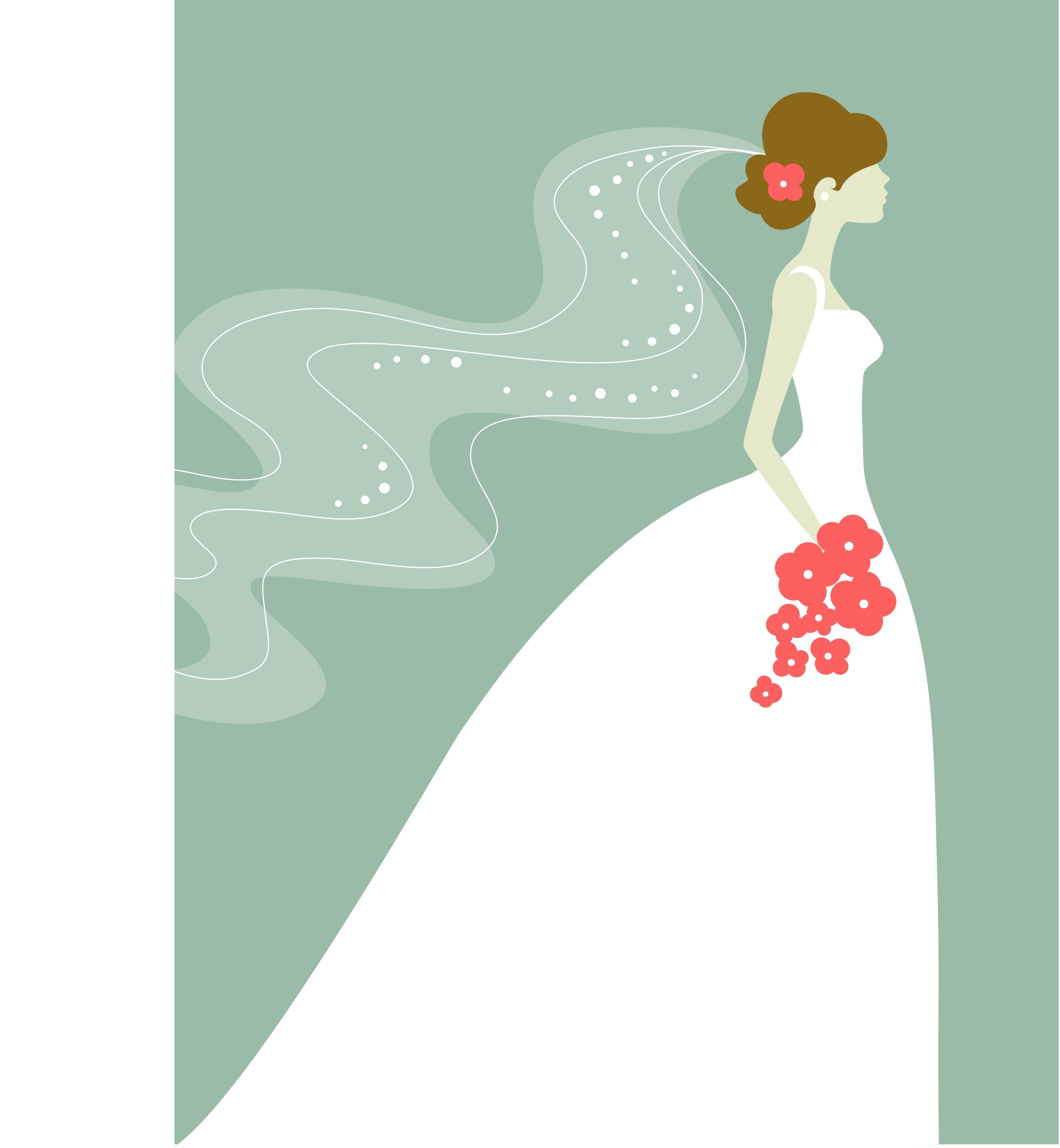 Free Bride Clipart