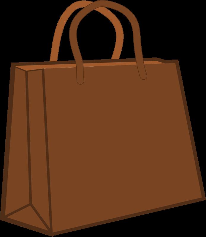 Free Brown Shopping Bag Clip Art-Free Brown Shopping Bag Clip Art-2