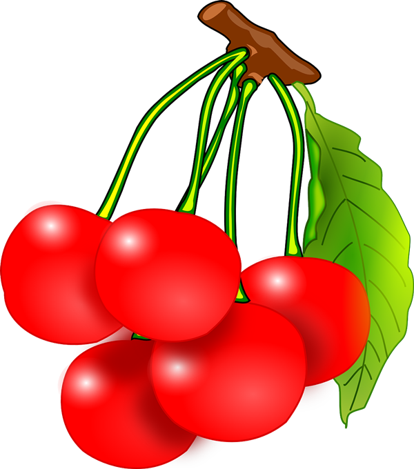 Free Bunch Of Red Cherries Clip Art-Free Bunch of Red Cherries Clip Art-8