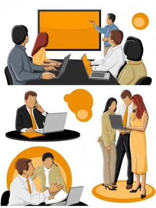 Free Business Clipart. Business People Image