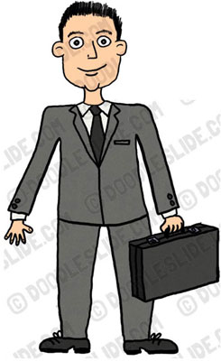 Free Business Man Clipart Jpg