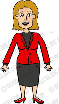 Free Business Woman Clipart Jpg