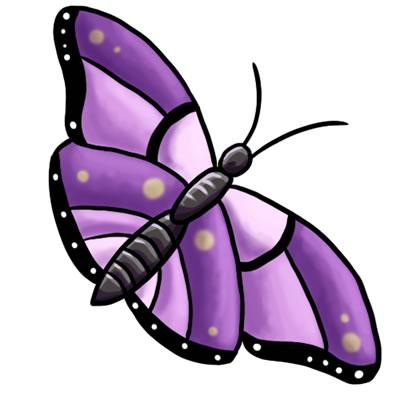 FREE Butterfly Clip Art 14