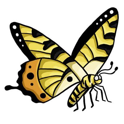 FREE Butterfly Clip Art 16-FREE Butterfly Clip Art 16-10