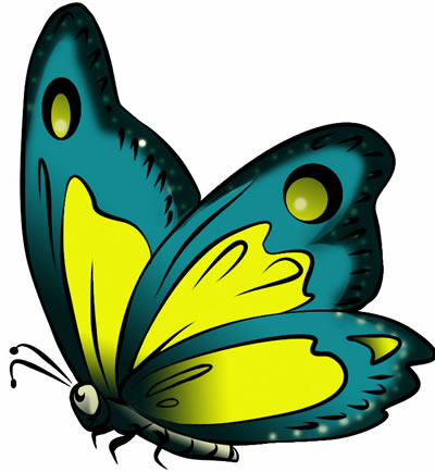 FREE Butterfly Clip Art 17-FREE Butterfly Clip Art 17-16