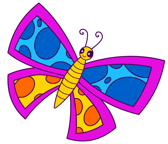 Free Butterfly Clip Art at Sweet Clip Art