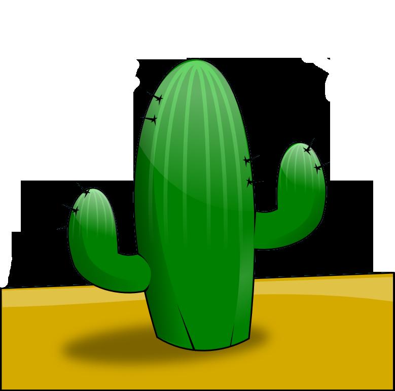 Free Cactus in the Desert Clip Art u0026middot; cactus2