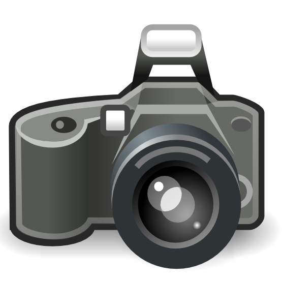 Free Camera Icon Clip Art