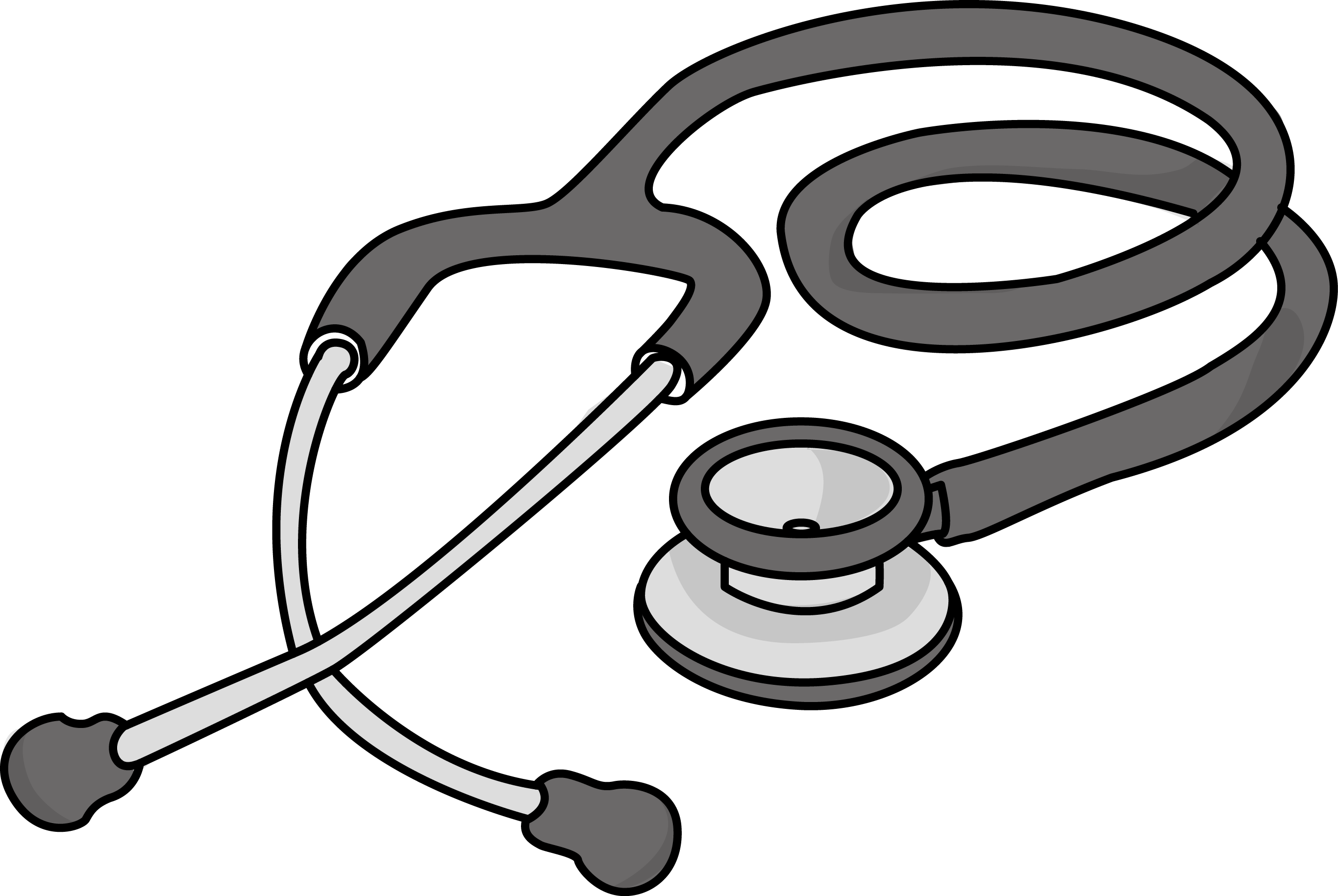 Free cardiology stethoscope health high -Free cardiology stethoscope health high resolution clip art all-7