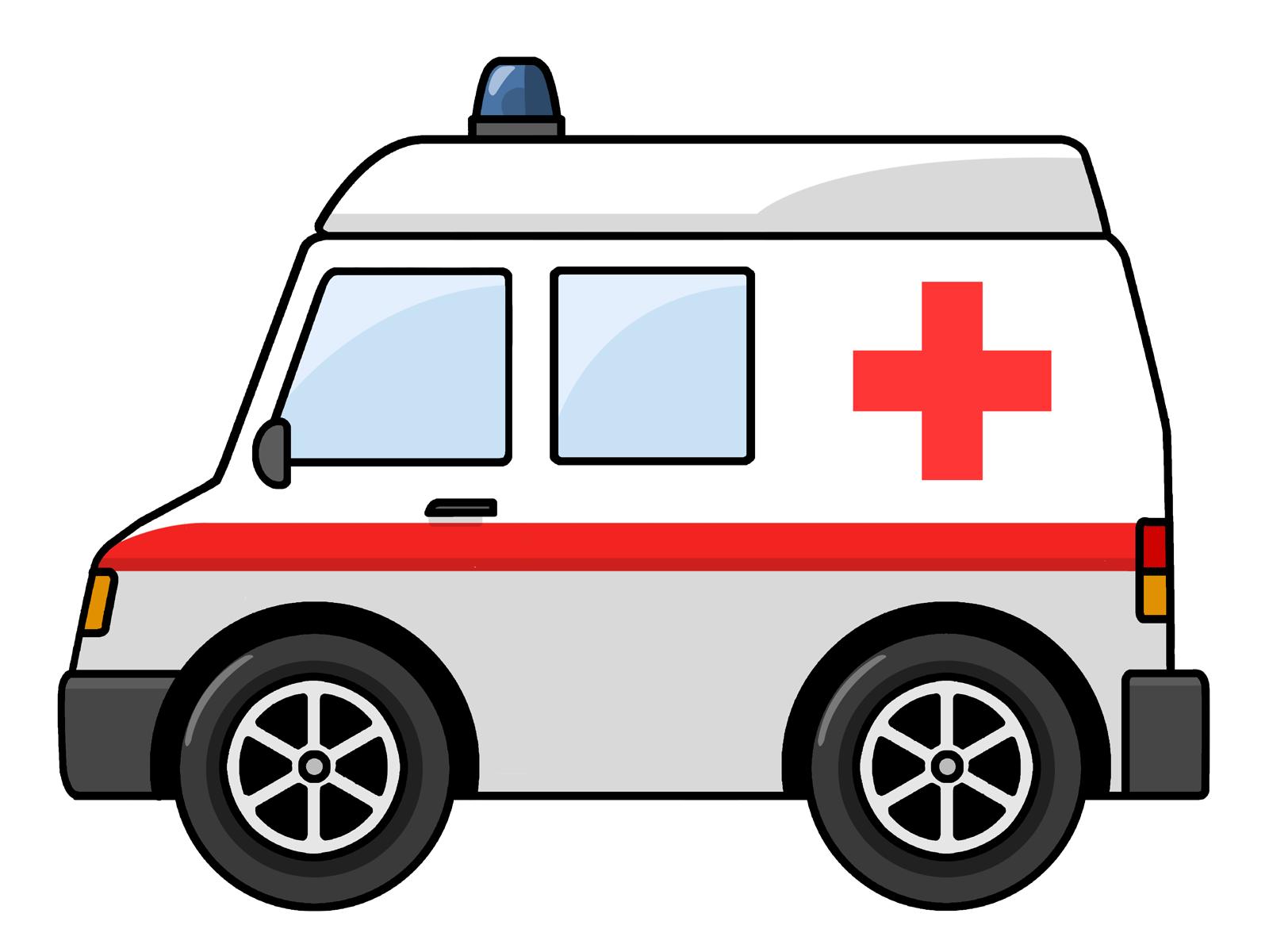 Free Cartoon Ambulance Clip Art-Free Cartoon Ambulance Clip Art-2