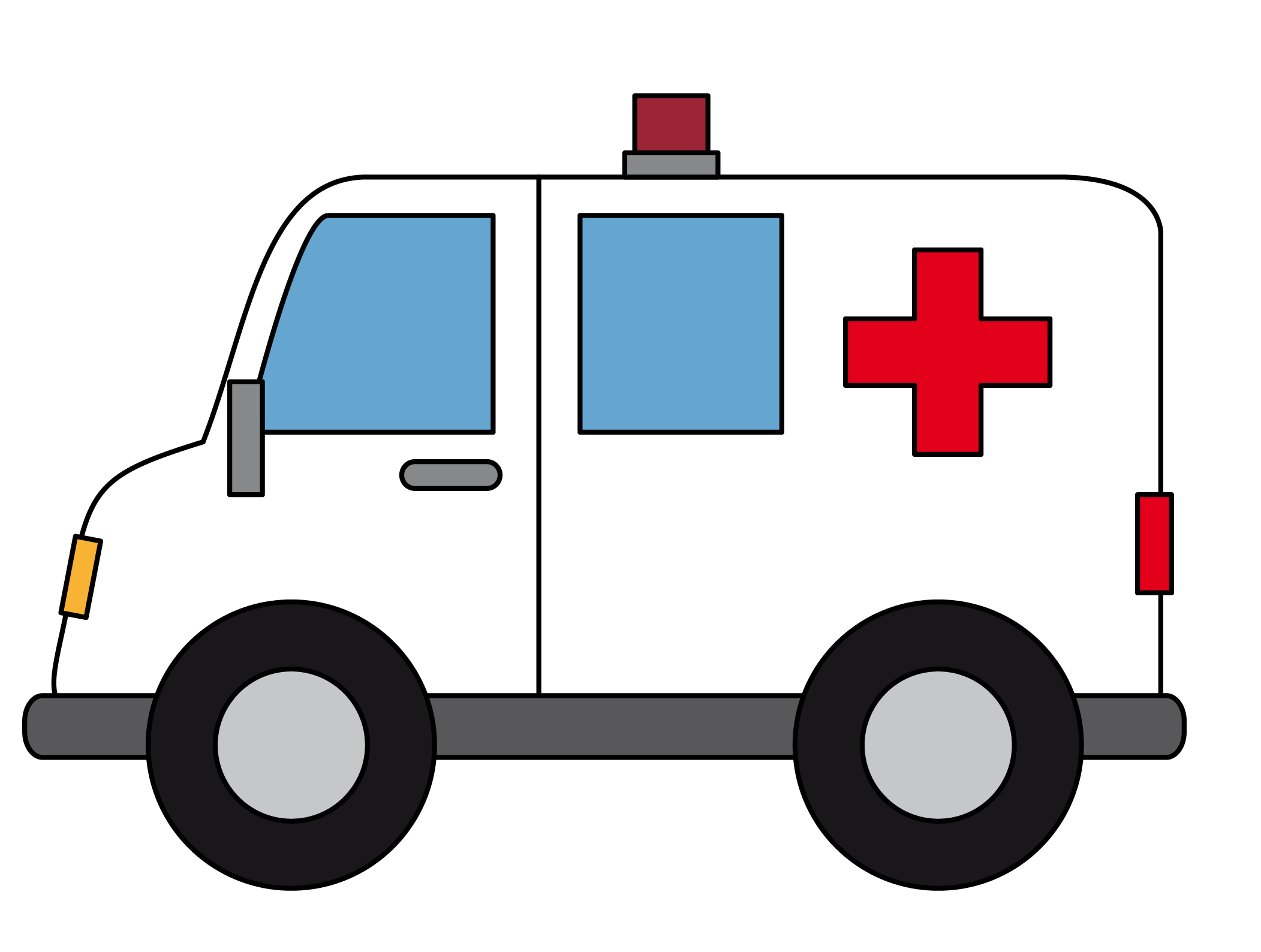 Free Cartoon Ambulance Clip Art u0026middot; ambulance7