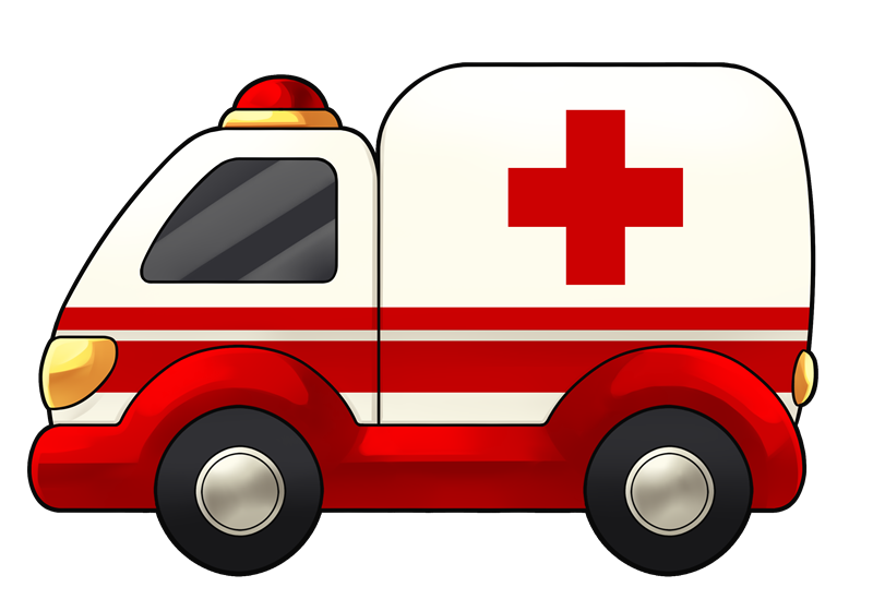 Free Cartoon Ambulance Clip Art u0026middot; ambulance9