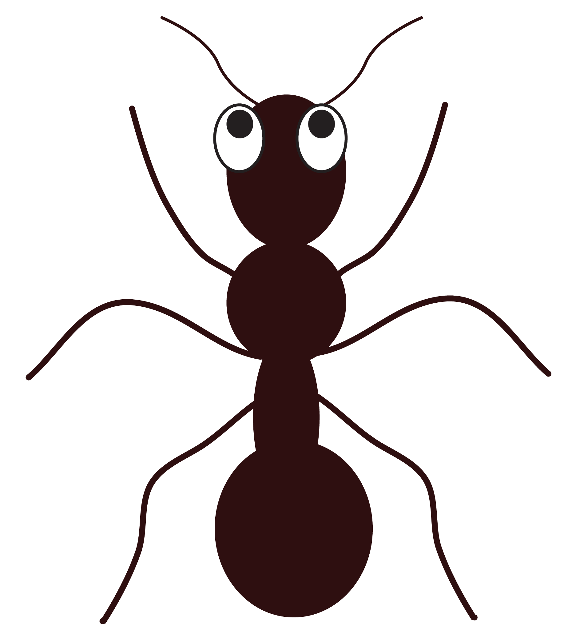 Free cartoon ant clip art