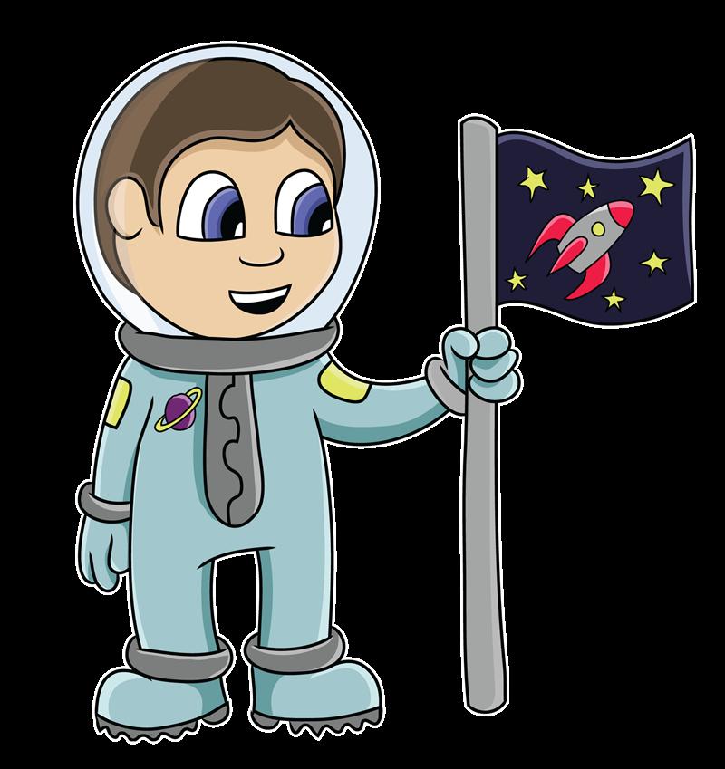 Free Cartoon Astronaut Clip Art-Free Cartoon Astronaut Clip Art-14