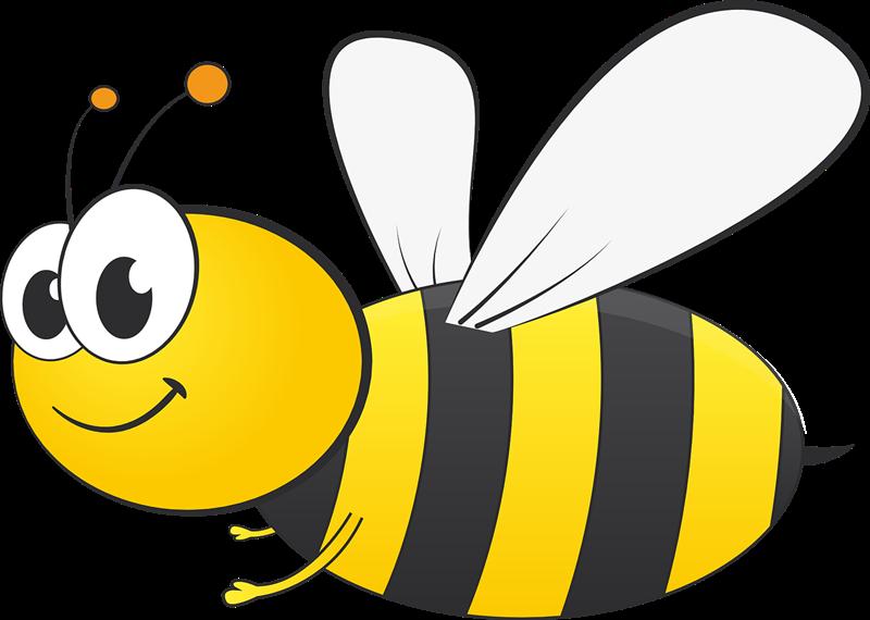 Free Cartoon Bee Clip Art-Free Cartoon Bee Clip Art-5